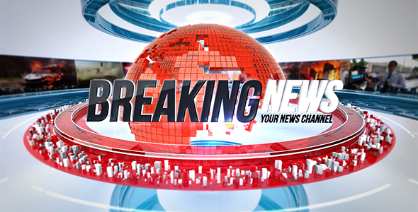 Videohive 24 Broadcast News Complete TV Package 20836101