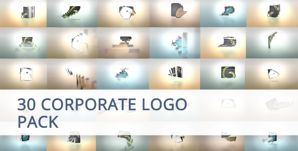 Videohive 30 Corporate Logo Animation Pack 20022901