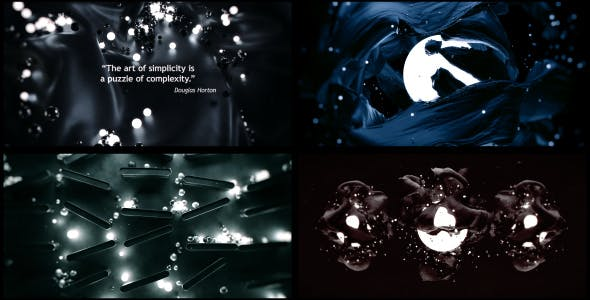 Videohive 3D Abstract Titles and Quotes 15416471
