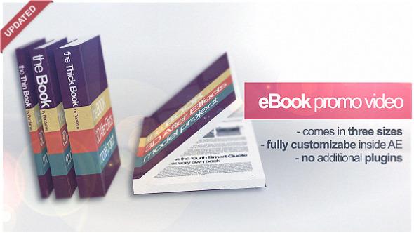Videohive 3D Book