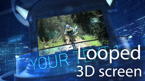 Videohive 3D Carousel Looped 18197610