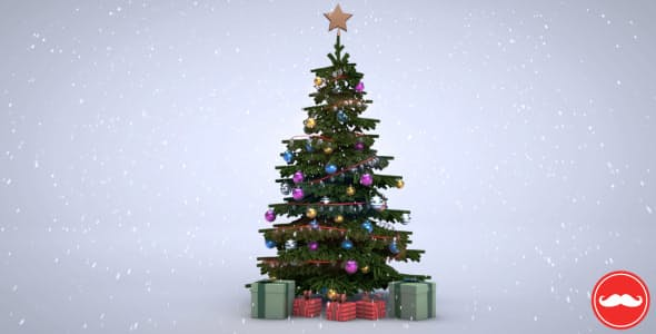 Videohive 3D Christmas Tree 6168130