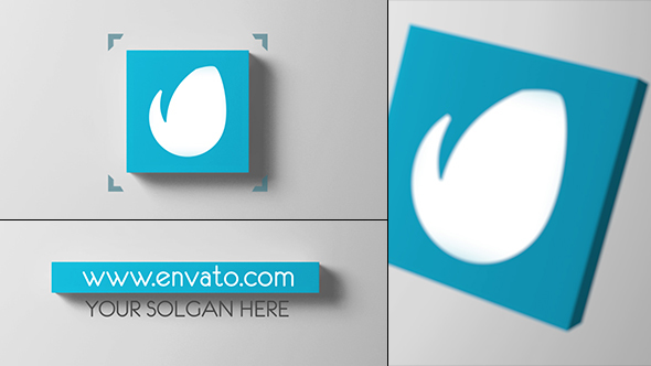 Videohive 3D Cube Logo Reveal 13600169