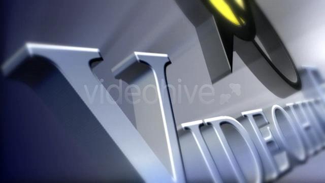 Videohive 3D Flying LOGO
