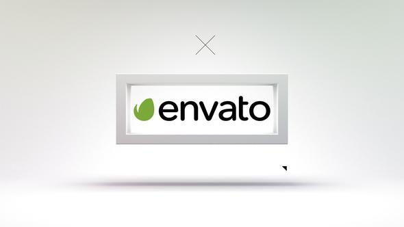 Videohive 3D Frame - Modern Logo Reveal 20263158