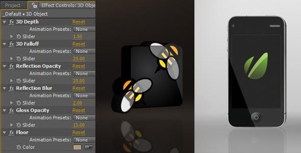 Videohive 3D Intro Object Creator 1744168