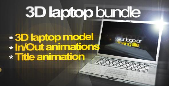 Videohive 3D Laptop Animation Bundle