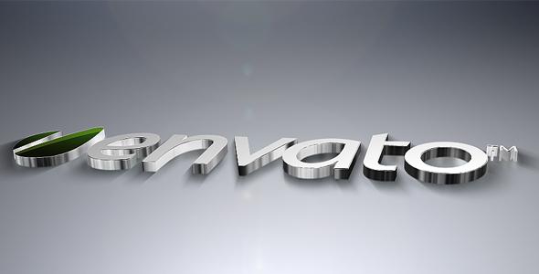 Videohive 3D Metal Logo Revealer