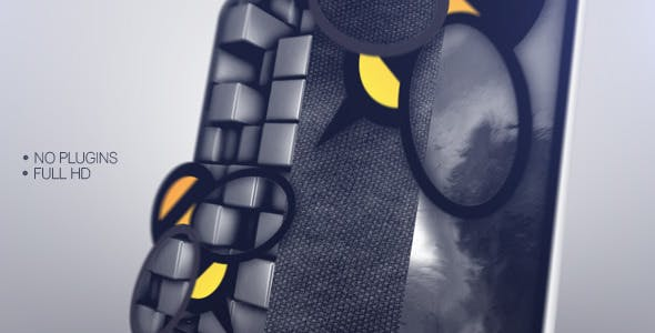 Videohive 3D Textures Logo Creator 5898219