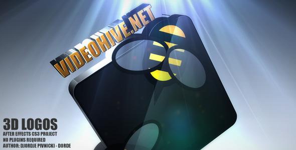 Videohive 3D logos.148218