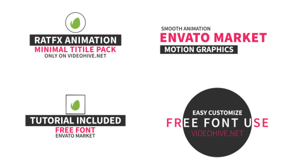 Videohive 40 Title Pack 20259613