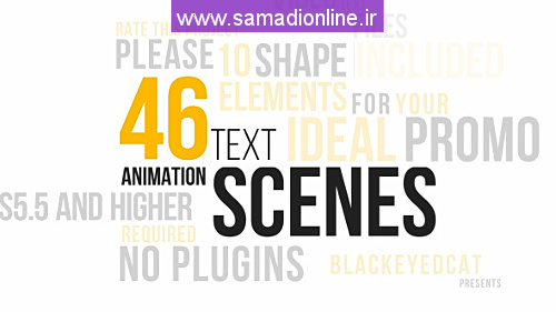 Videohive 46 Dynamic Text Animations Pack