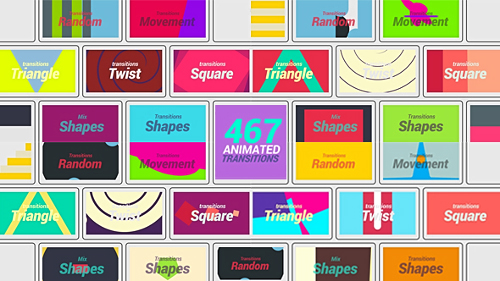 Videohive 467 Animated Transition 19946866