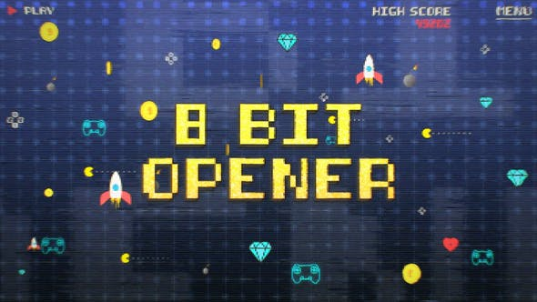 Videohive 8 Bit Old Game Opener 28798911