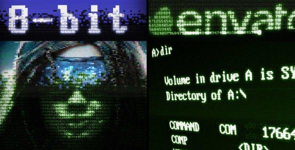 Videohive 8-Bit Retrocomputing 14314024