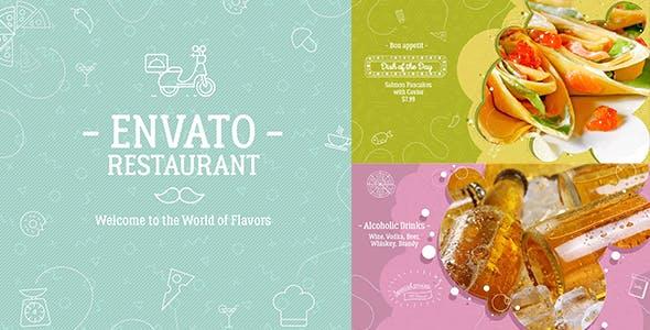 Videohive A1 Envato Restaurant 19850473