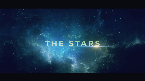 Videohive Above the Stars 21725062