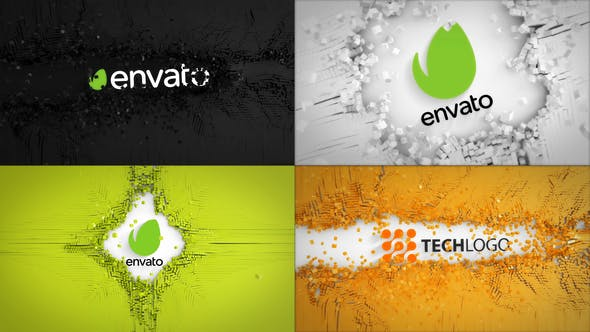 Videohive Abstract Cubes Logo Reveals 25361578