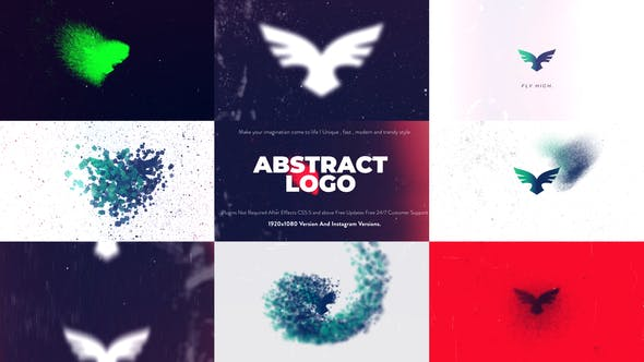 Videohive Abstract Logo Animation 22797893