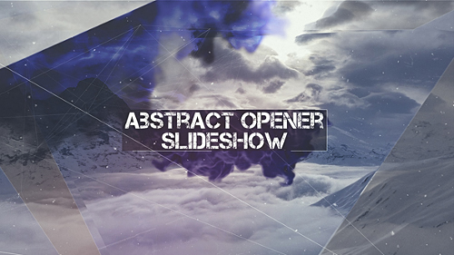 Videohive Abstract Opener - Slideshow 16543880
