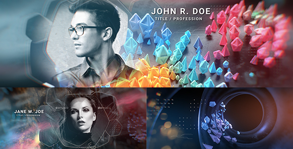 Videohive Abstract Opener Title Sequence 21535540
