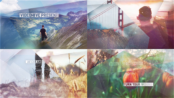 Videohive Abstract Shapes - Simple Slideshow 16532862
