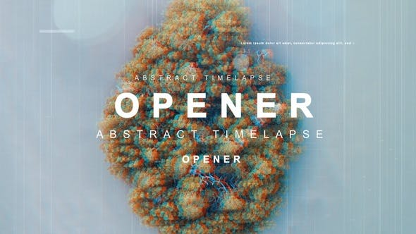 Videohive Abstract Timelapse Opener 22890047