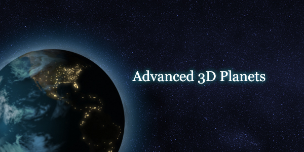 Videohive Advanced 3D Planets