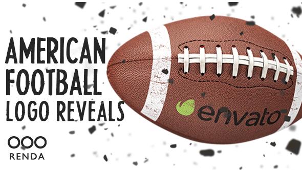 Videohive American Football Logo Reveals 19964589