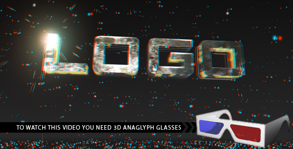 Videohive Anaglyph Titles.108639