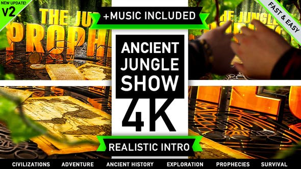 Videohive Ancient Civilization Jungle Show 2205936