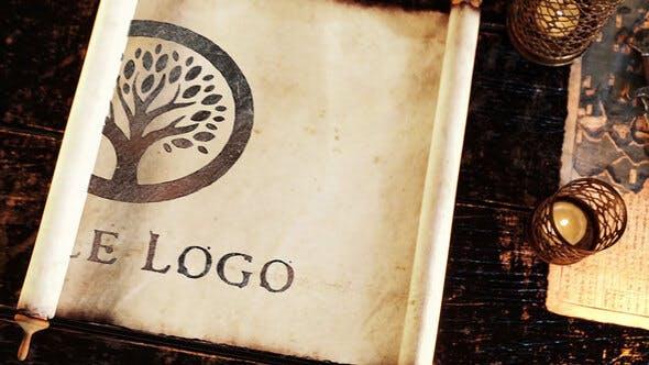 Videohive Ancient Parchment Logo 26697079