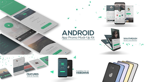 Videohive Android App Promo Mock-Up Kit 20042116