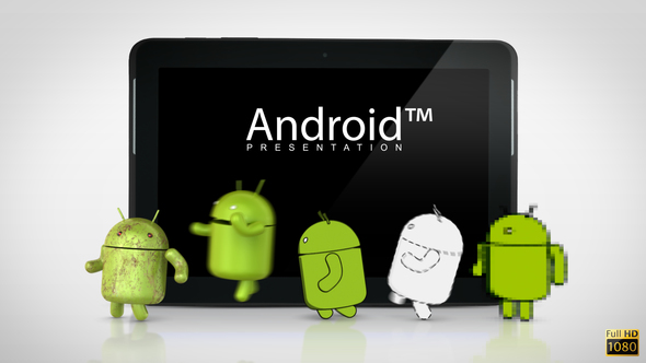 Videohive Android Presentation 3933377