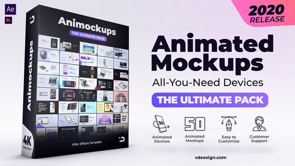 Videohive Animated Mockups Ultimate Pack 26371337