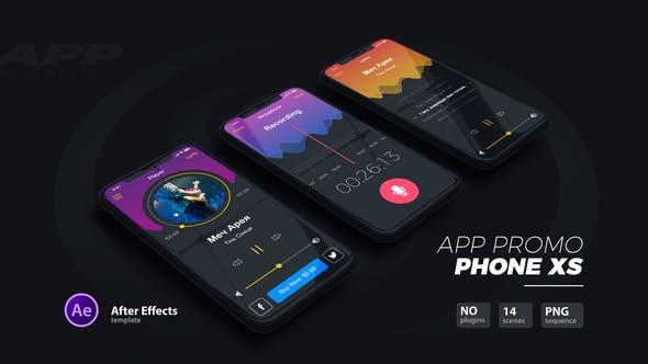 Videohive App Promo - Phone Xs 22889961