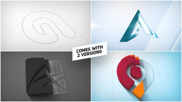 Videohive Architect 3D Logo Reveal 26536497
