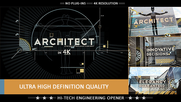 Videohive Architect Construction Intro Titles 9021476