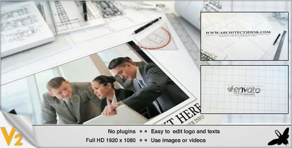 Videohive Architects Desk 4239317