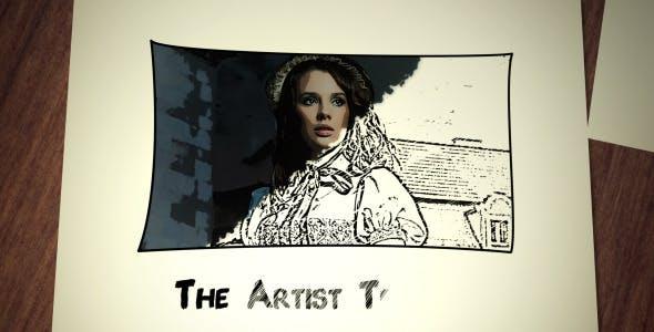 Videohive Artist Sketch 260784
