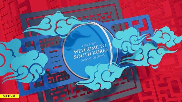 Videohive Asian Intro Hello South Korea Seol Tokyo Gong Sea Food 25956209