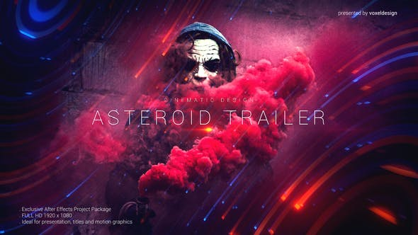 Videohive Asteroid Cinematic Trailer 24594938
