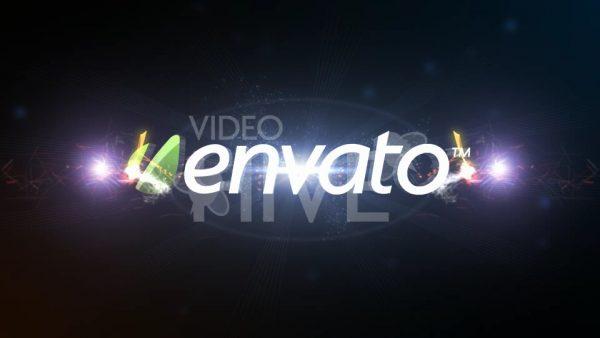 Videohive Atomic Fire Light Logo 77308