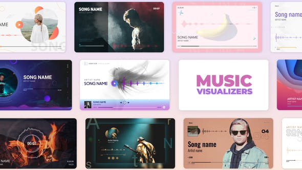 Videohive Audio Music and Podcast Visualizers 27590301