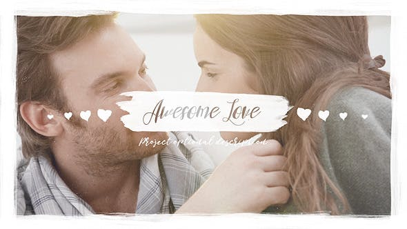 Videohive Awesome Love 20762855