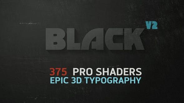 Videohive BLACK v2 6546653