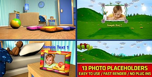 Videohive Baby Photo Album 2906759