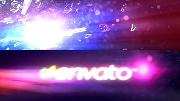 Videohive Backward Logo Timelapse 3083352