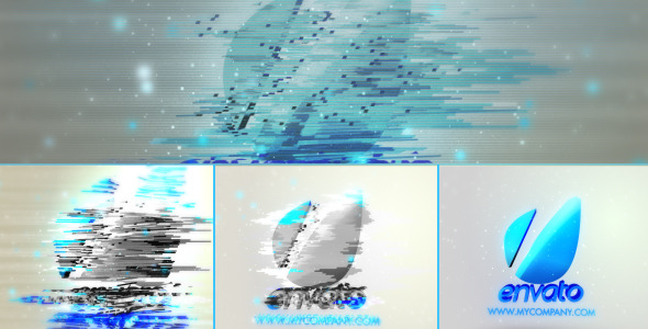 Videohive Bad Signal 3D Shattered Logo 3120919