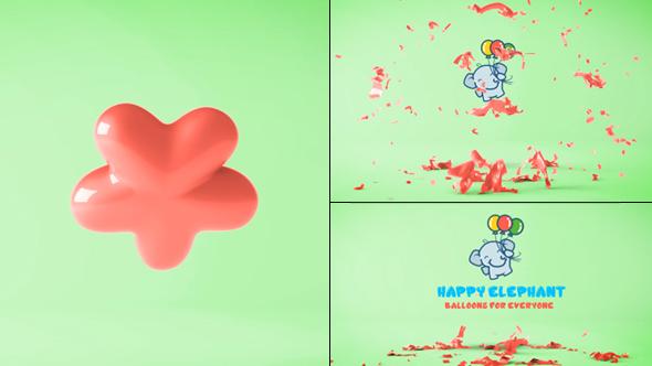 Videohive Balloon Logo Reveal 20054104